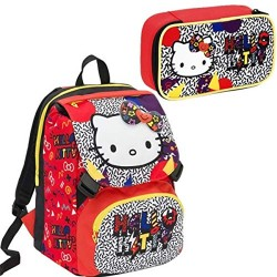 Zaino + Ast. Quick Case Hello Kitty Seven