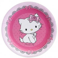 Piatto Grande Charmmy Kitty Cm 23 Pz 8