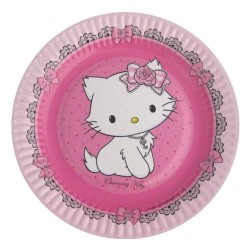 Piatto Piccolo Charmmy Kitty Cm 18 Pz 8