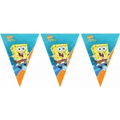 Festone Bandierine Spongebob mt 3
