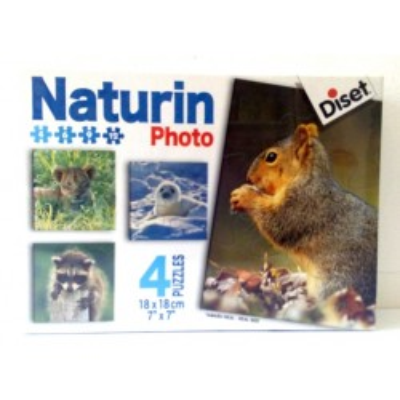 "Scatola ""Naturin"" Photo 4 Puzzle Diset"