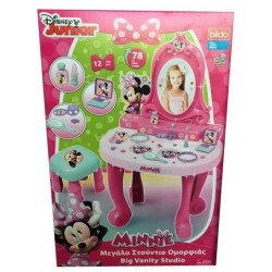 Specchiera Minnie cm 78 c/12 accessori