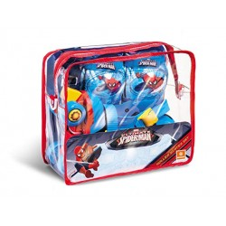 Borsa Pattini C/Accessori Spiderman